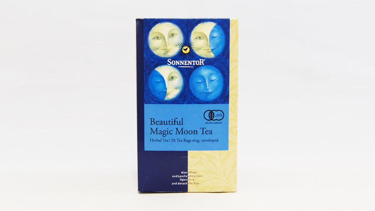 月の満ち引きでブレンドされているオーガニックハーブティー・マジック ムーンティー