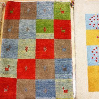 自然の色を織ったイランのGABBEH(ギャッペ)という絨毯にハマっています!!
