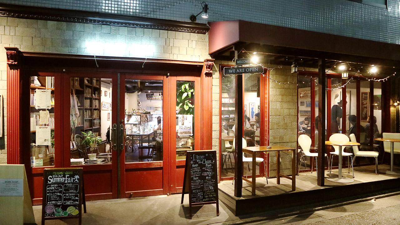 武蔵小山の「HEIMAT CAFE(ハイマットカフェ)」にて本音の打ち合わせ