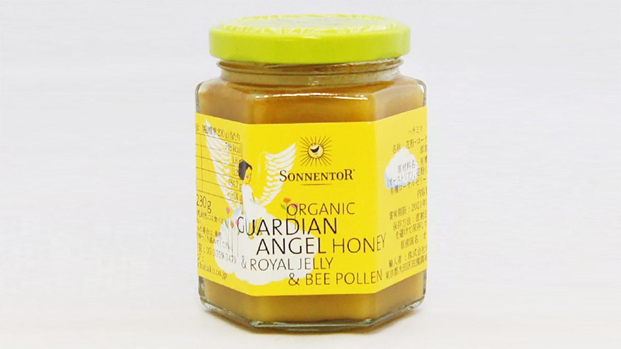 ハチミツ守護天使は「合成添加物不使用」「非加糖・非加熱」であり、あなたを守護してくれる味?
