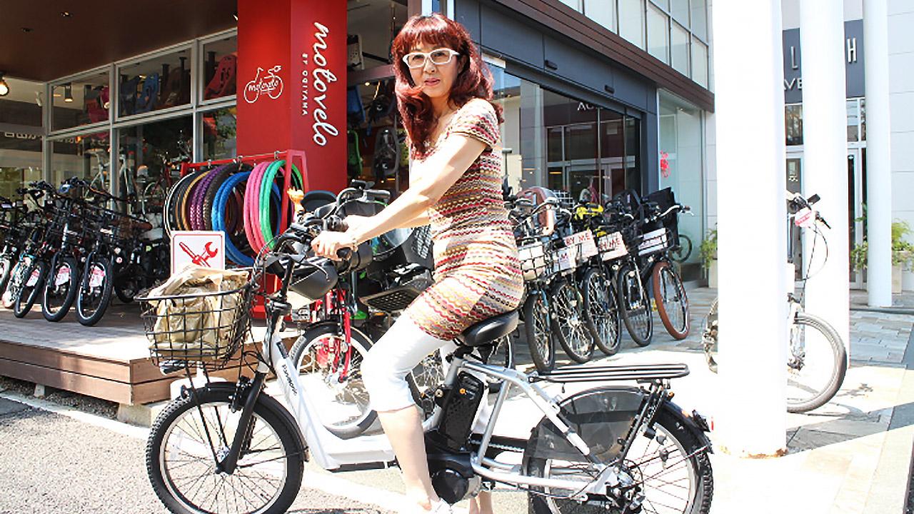 モトベロ・自由が丘店にて電動アシスト自転車「ギュットアニーズ(BE-ELMA03)」購入!!