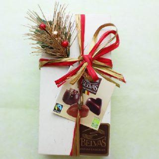 オーガニックチョコを贈るのが、大人のおシャレなセンスです。