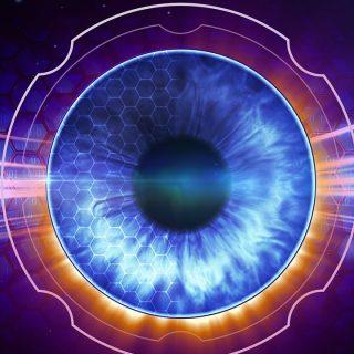 宇宙は肉体をスキャナーをするように眼の前に現実と成す。