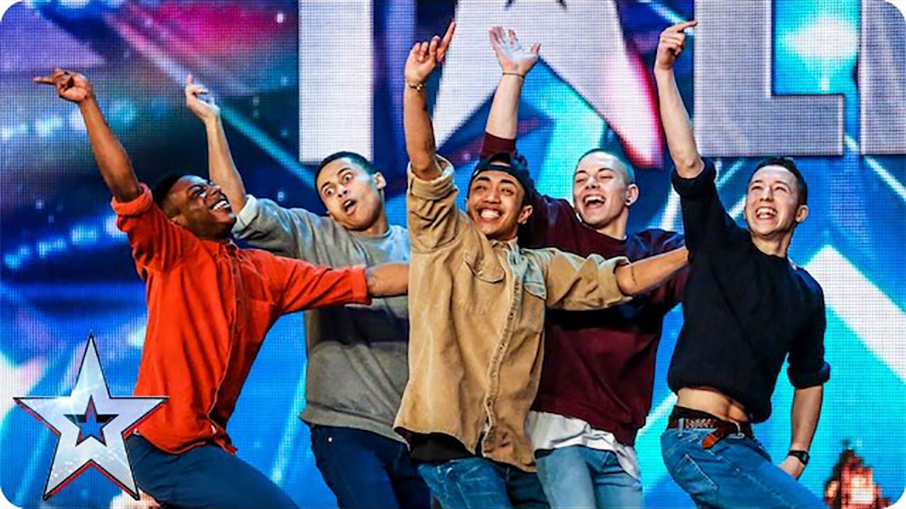Golden buzzer act Boyband are back-flipping AMAZING! 「Britain's Got Talent 」