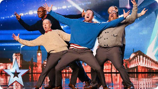 Old Men Grooving bust a move, and maybe their backs! ~Britain's Got Talent ~