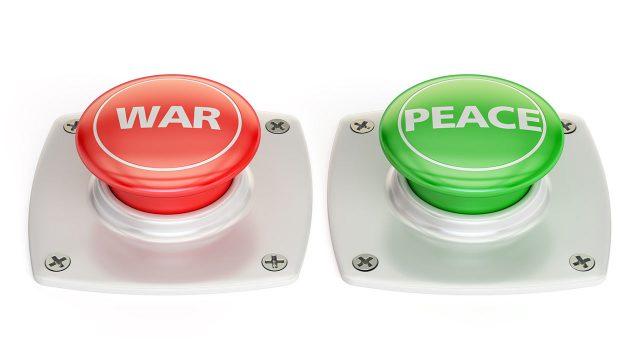 「明日って日本海が緊迫? 」北朝鮮の弾道ミサイルはWARボタンかPEACEボタンか・・