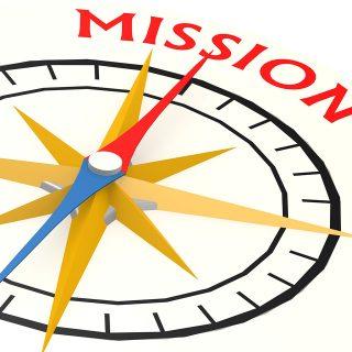 ミッションはイメージではない、ビジョン!が実現化する計画のために命を使うこと。