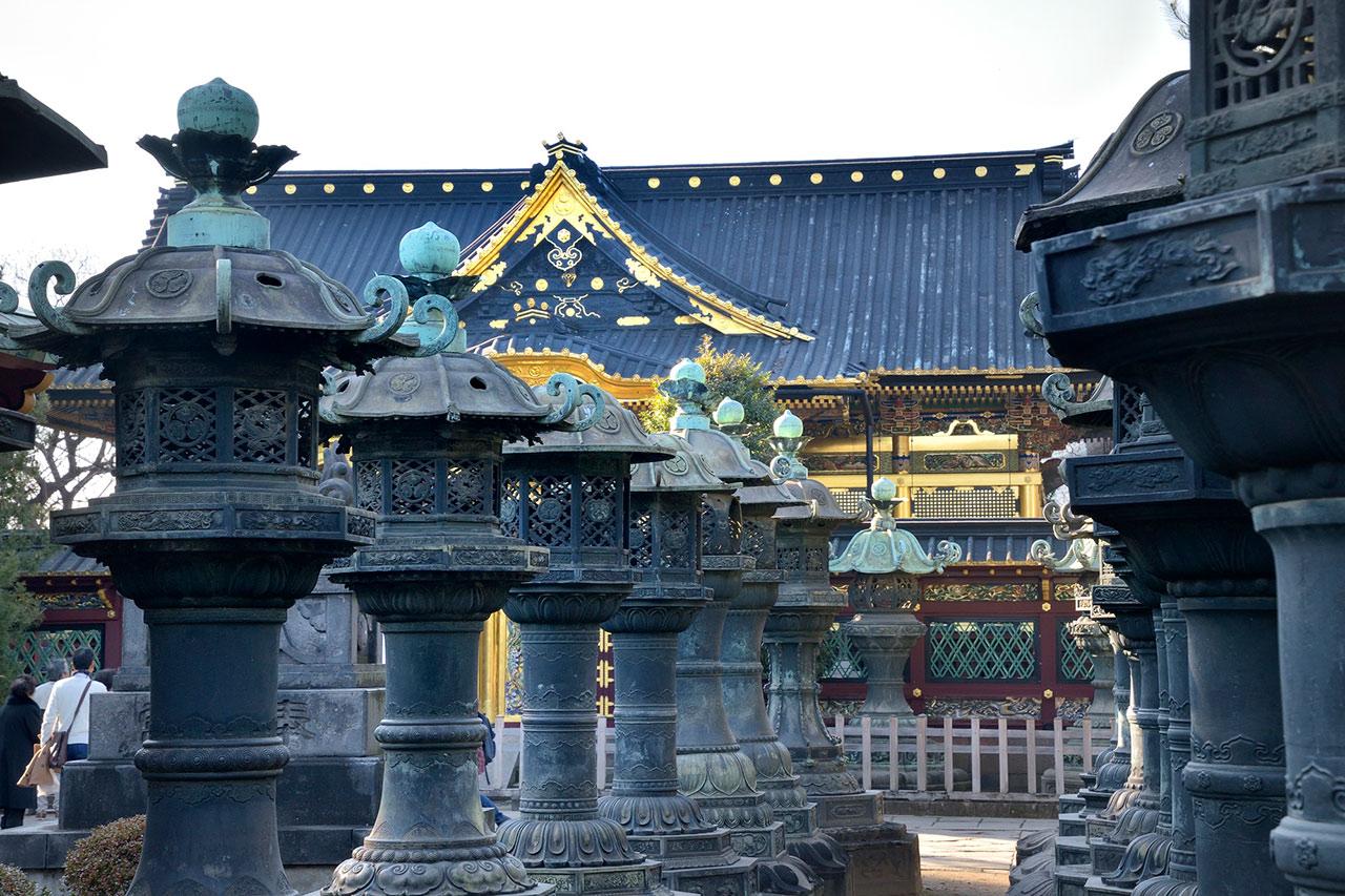 上野公園と谷中の街並が昭和の歳月を経て・・江戸庶民は何を思う。
