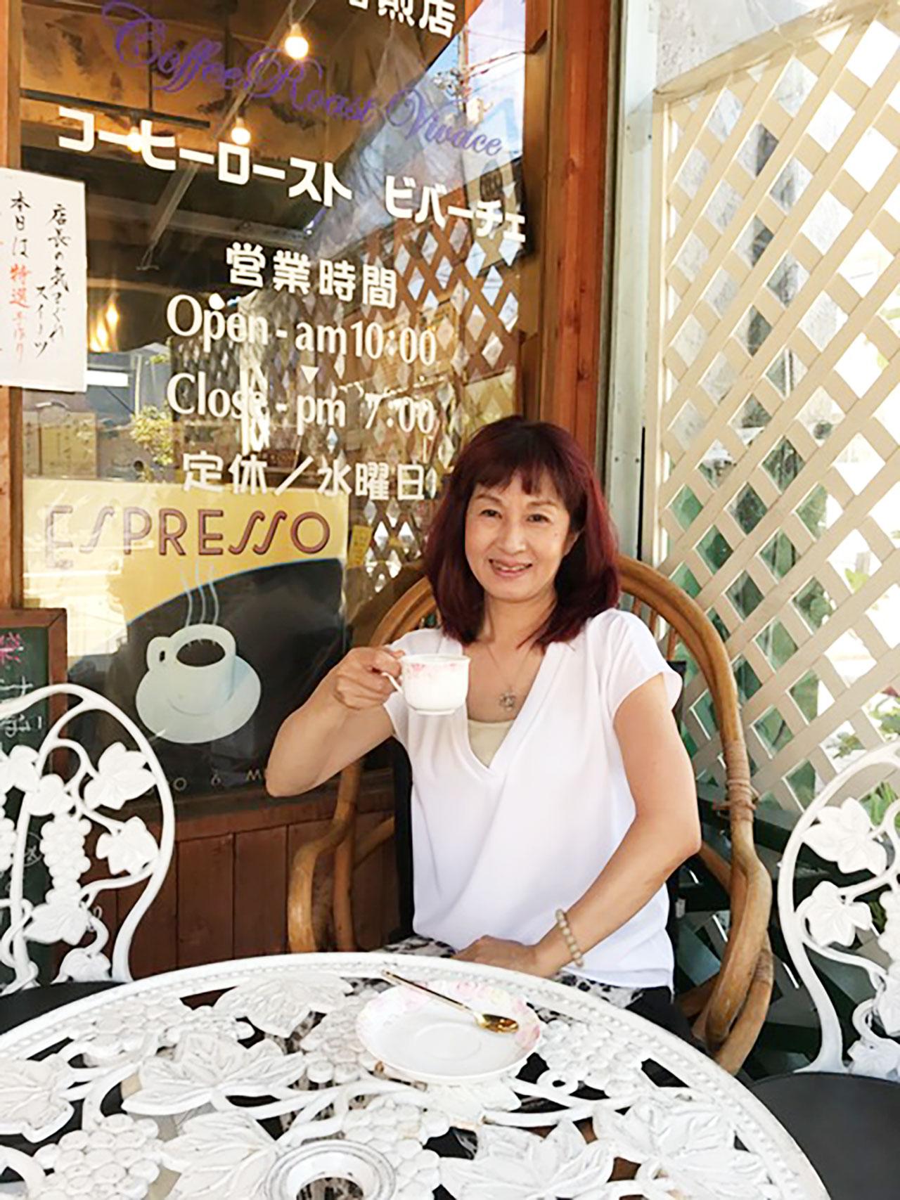 COFFEE ROAST VIVACEにてコーヒーを楽しむ