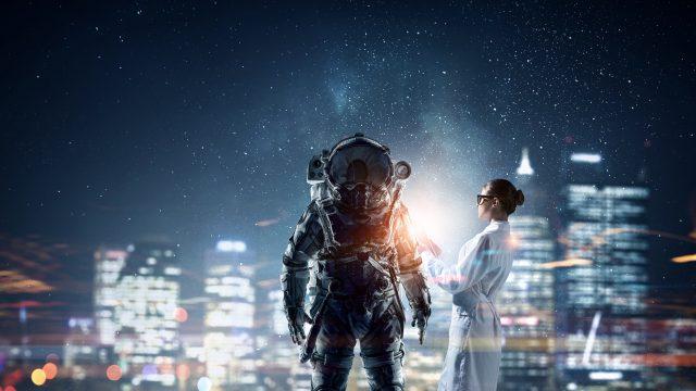 早く来てくれないかなぁ~地球を救ってくれる高次元の生命体・・。