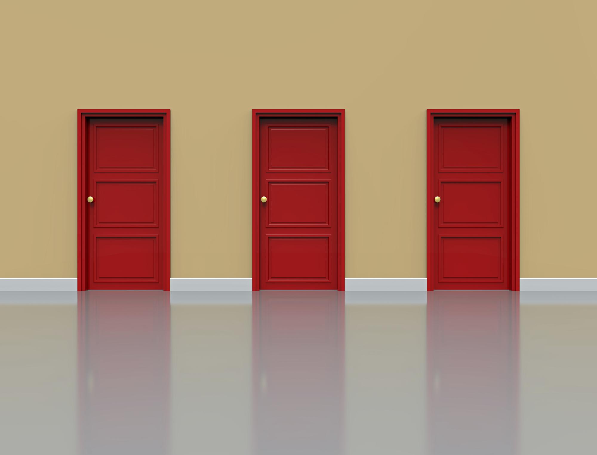 自分が進む扉の選択をまちがわないこと。一寸先は光か闇か?!
