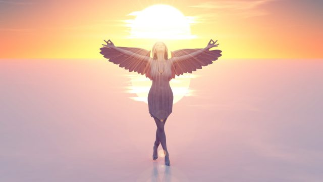 地球で天使の翼を広げて光の世界に飛び立つために!!