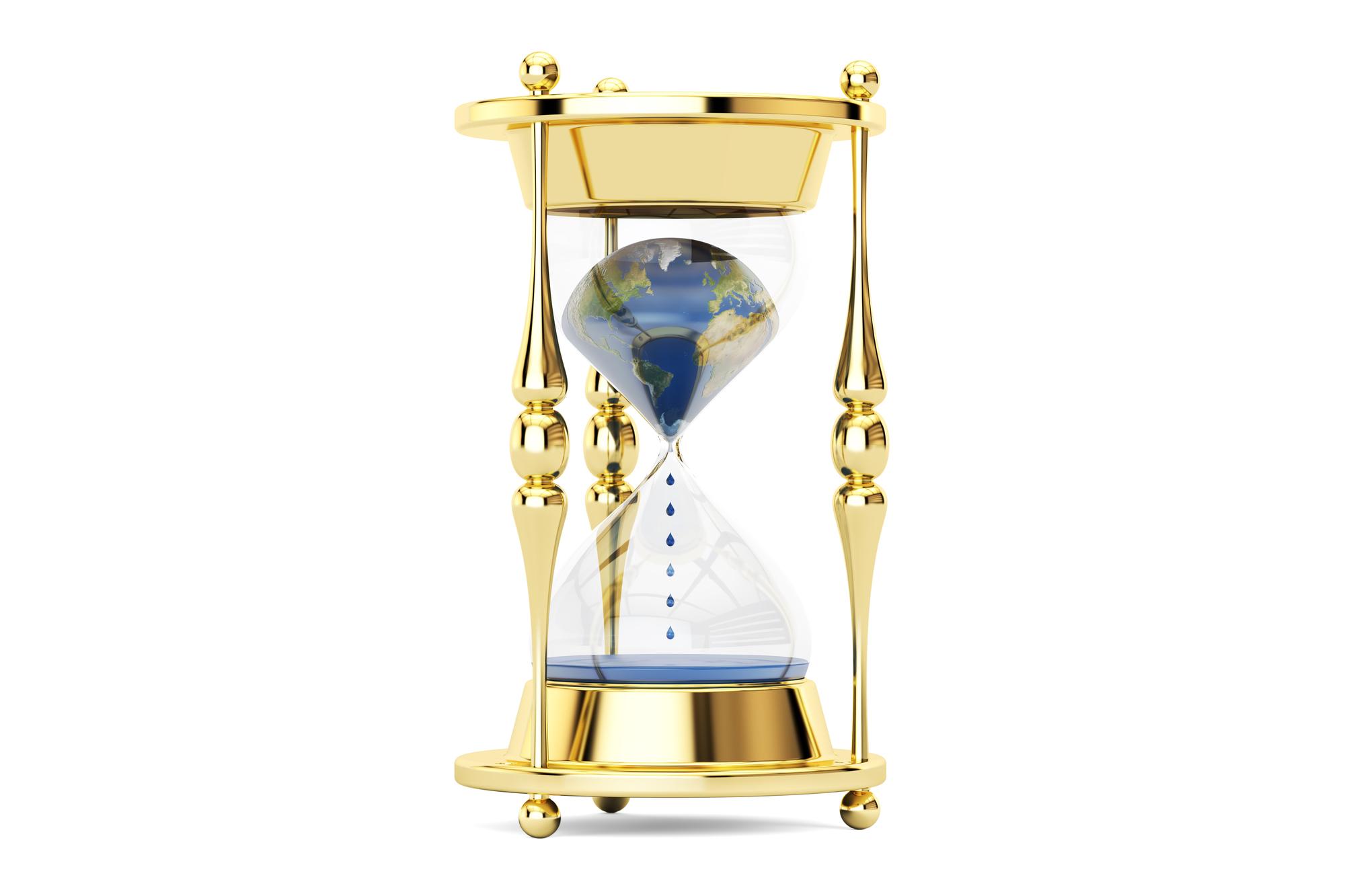 砂時計が落ち始めた!!人類のカウントダウンが始まった・・。