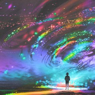 地球の空と海は誰のものでもない。カルマ人間は宇宙のレッドカードを踏んだ。