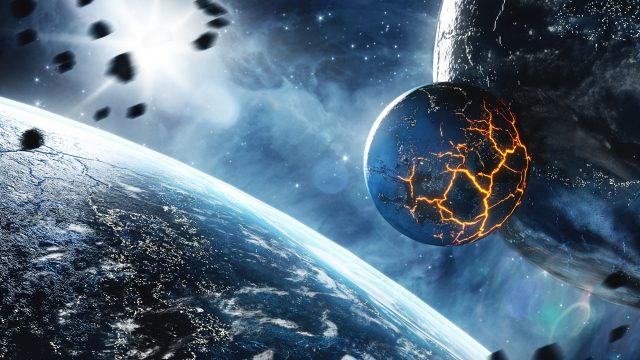 地球に隕石が落下する日。究極の生きる時間が迫っている・・。