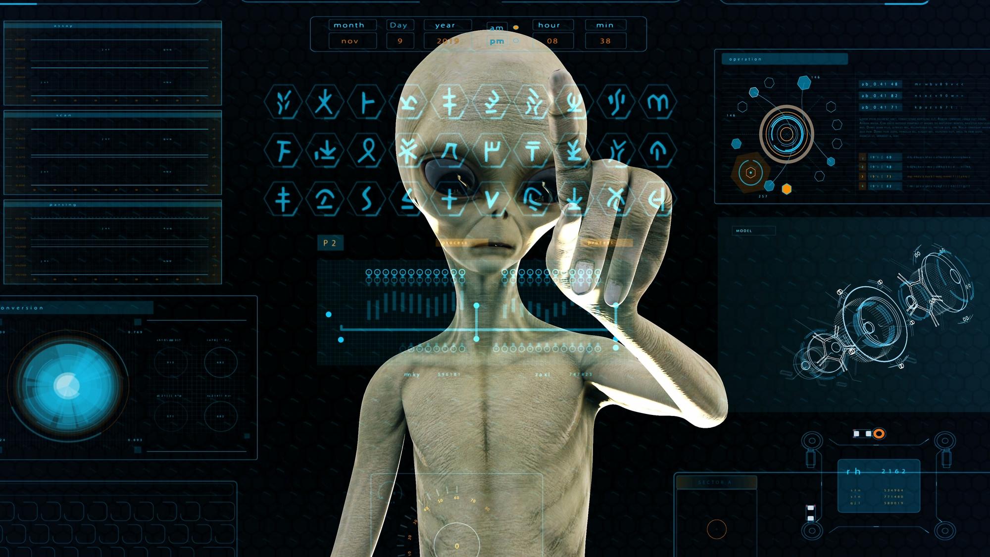 宇宙人はそこにいる。あなたを見ている!? あなたも宇宙人でしょ。